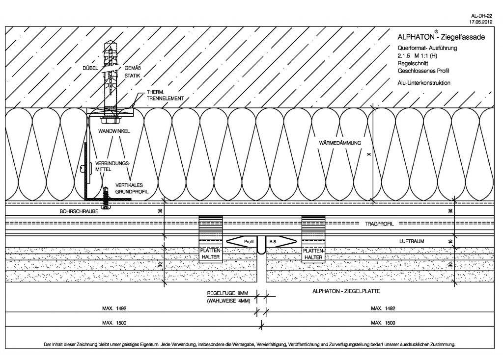 Horizontal section