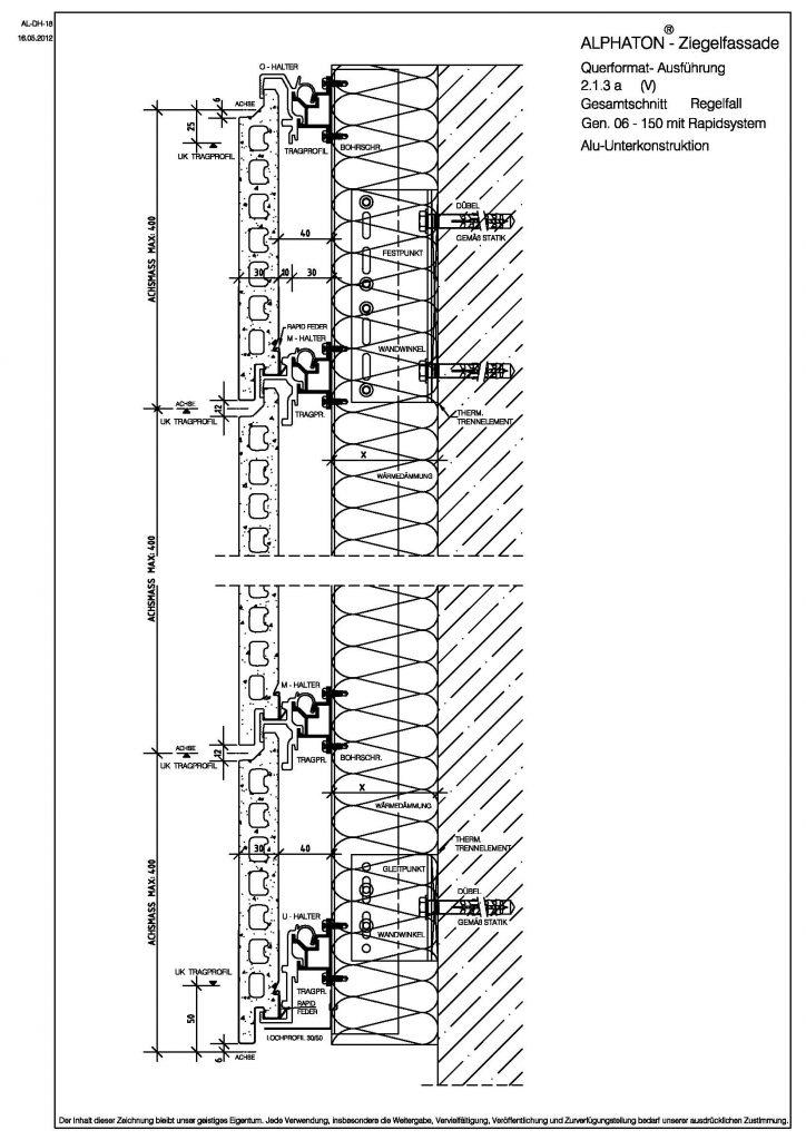 Vertikalschnitt Gen. o6 150