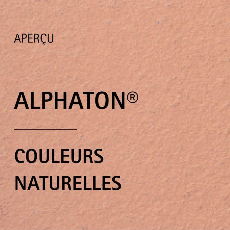 Palette de couleurs ALPHATON®