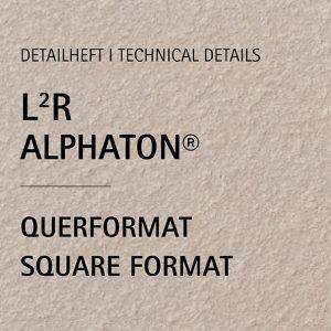 Detailheft ALPHATON® L²R für Querformat