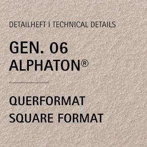 Detailheft ALPHATON® Gen. 06 für Querformat
