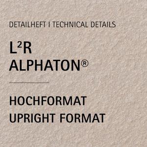 Detailheft ALPHATON® L²R für Hochformat