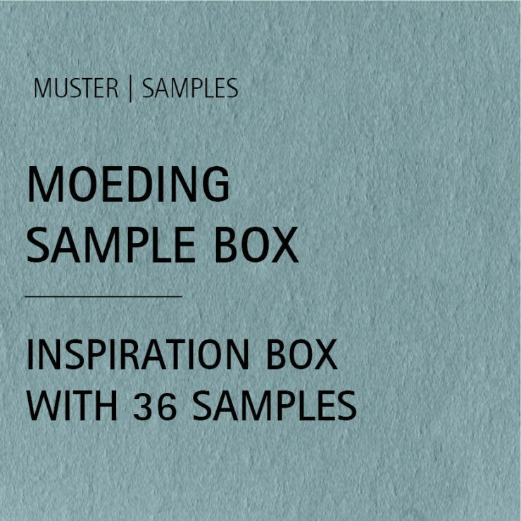 MOEDING Sample Box INCLUDING 36 Different color samples