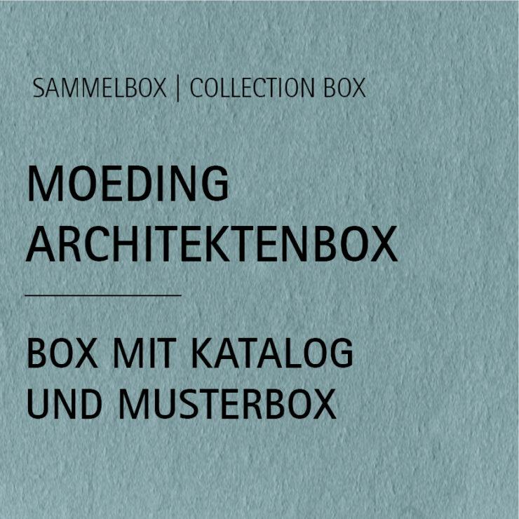 MOEDING Architektenbox inkl. Katalog und Musterbox
